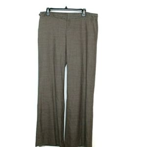Gap the trousers brown herringbone wool career